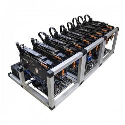 Grin 8 GPU Mining Rig - New Grin coin miner 40 GP/s at 1300 Watts